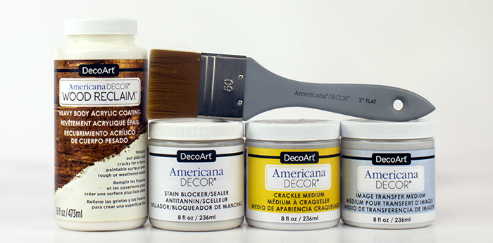 Americana Decor Specialty Products and Brushes