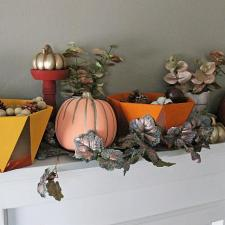 Contemporary Fall Mantle