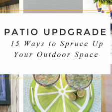 15 Ways to Spruce Up Your Patio