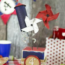 Fourth of July Firework Table Décor