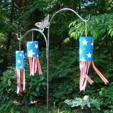 Patriotic Windsock Trio