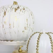 Crackle and Studded Pumpkins