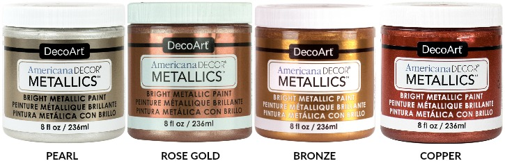 DecoArt Blog - Outdoor Living and Metallics Available at