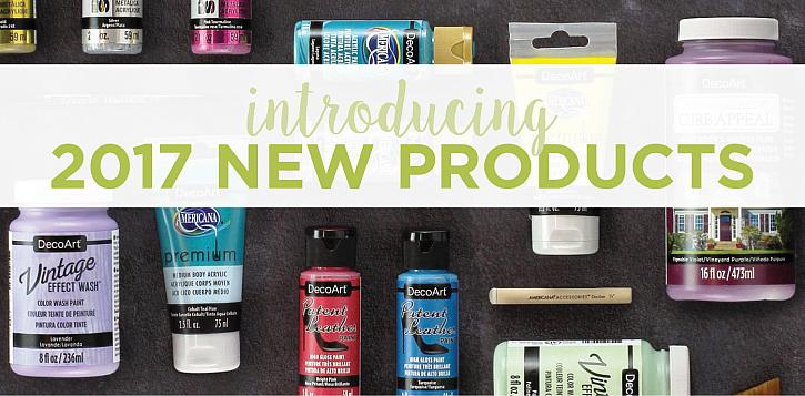 Introducing 2017 New Products