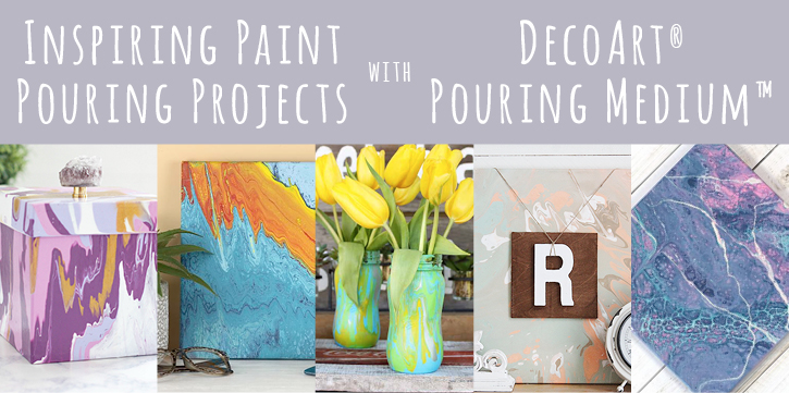 Paint Pouring Inspiration