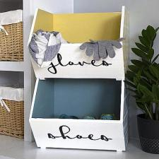 Gloves & Shoes Storage Bins