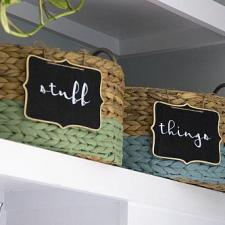 Dipped Storage Bins