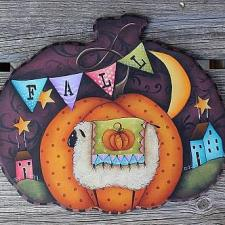 Lumpy Pumpkin Plaque