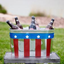 Americana Patriotic Drink Tin