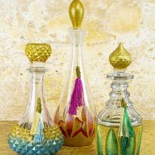 Arabian Nights Decanter Trio