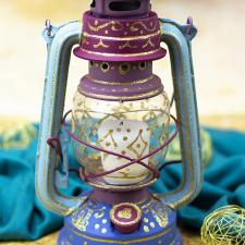 Arabian Nights Painted Lantern