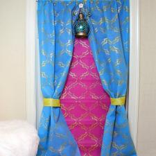Arabian Nights-Inspired Curtain or Backdrop by Morena Hockley
