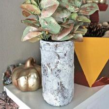Faux Clay Vases with Americana Decor Texture & Chalky Finish