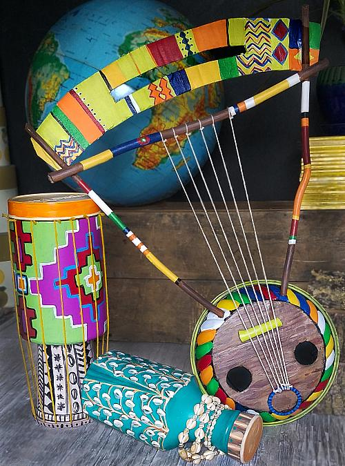 Crafts Blast: DIY Instruments