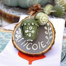 Woodland Ornament Place Card