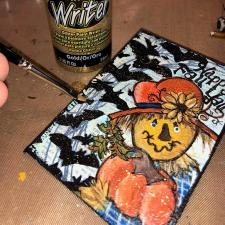 Happy Fall Y\'all Scarecrow ATC