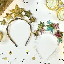 Glitter Stars New Year\'s Eve Crown