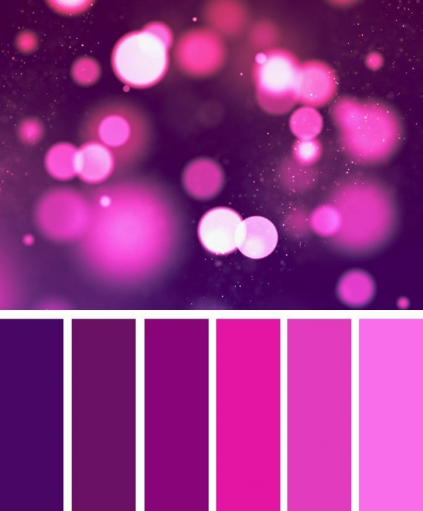 Magenta Color Palette