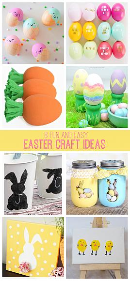 8 Fun & Easy Easter Craft Ideas