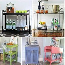 9 DIY Bar Cart Ideas for Inspiration