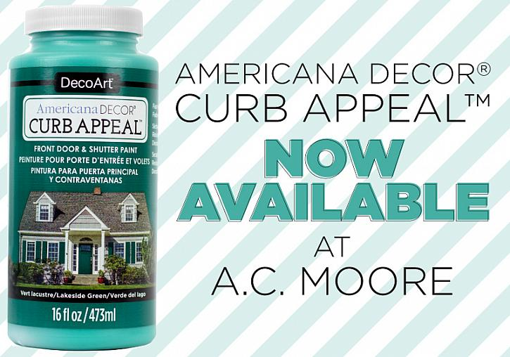 Curb Appeal: Now Available at A.C. Moore
