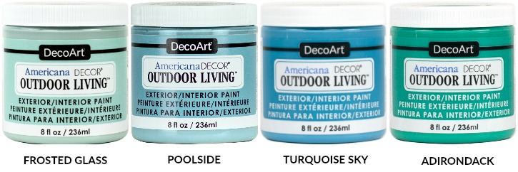 DecoArt Blog - Outdoor Living and Metallics Available at Hobby Lobby