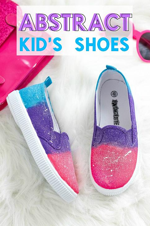 Abstract Kid's Shoes