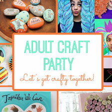 Adult Craft Party Ideas