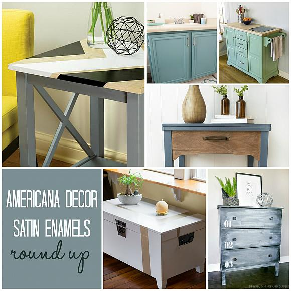 Diy Round End Table Makeover