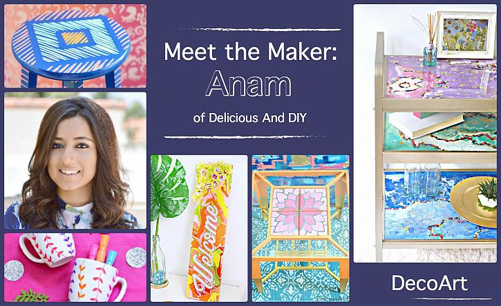 Meet the Maker: Delicious And DIY