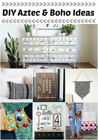 Decoart Blog Trends Diy Aztec And Boho Ideas
