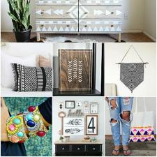 DIY Aztec and Boho Ideas
