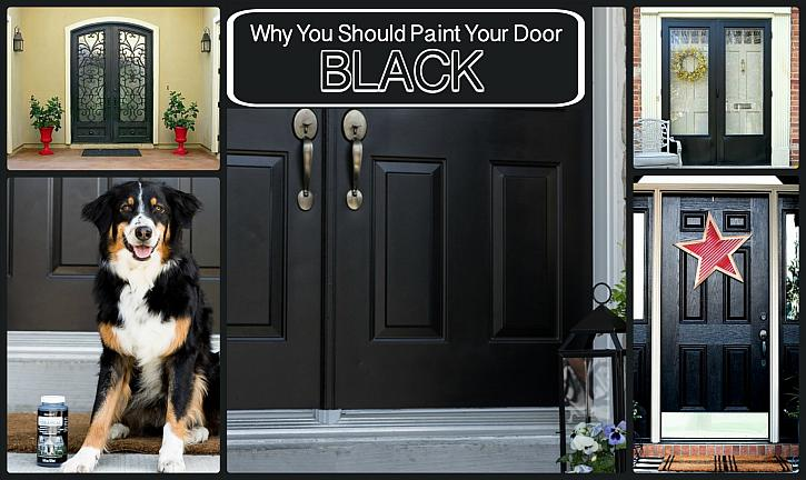 Homes with Black Doors Sell for More! & DecoArt Blog - Homes with Black Doors Sell for More!