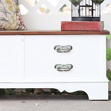 Outdated Hope Chest Upcycle
