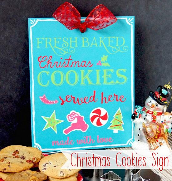 Decoart Blog Crafts Christmas Cookie Sign