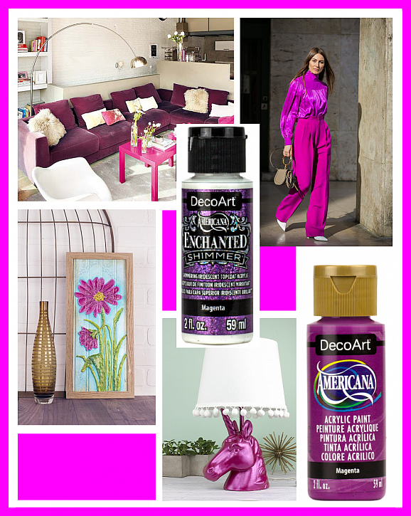 Color of the Month: September - Magenta