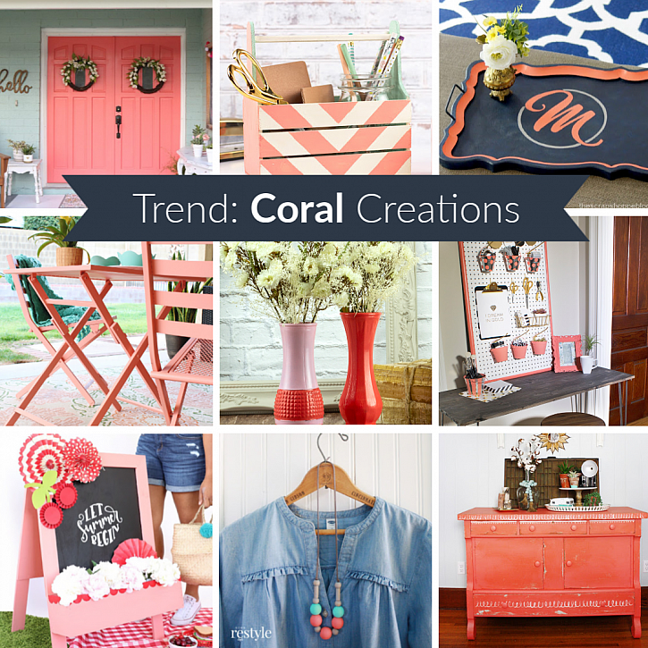 Trend: Coral Creations