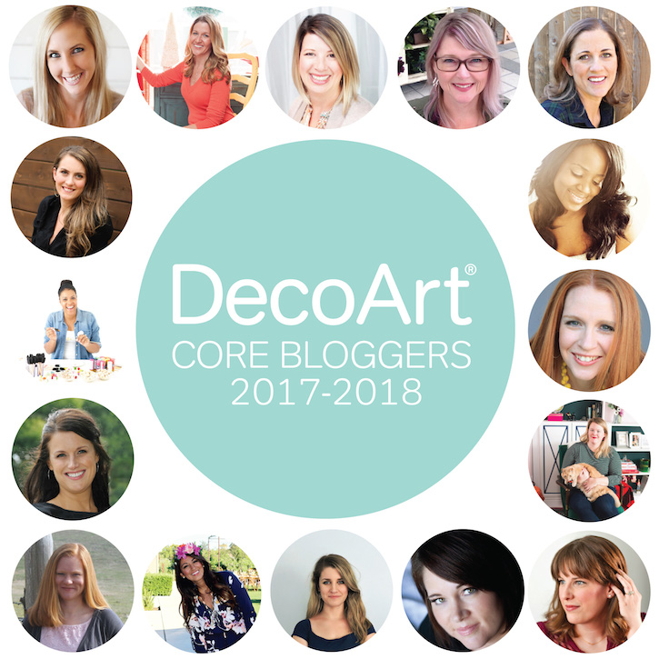 Introducing the 2017 - 2018 DecoArt Core Bloggers