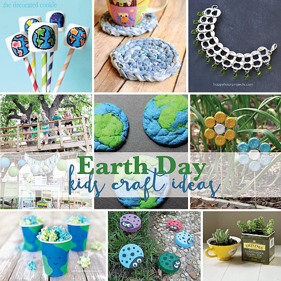 Earth Day Craft Ideas For Kids Part - 39: Earth Day Kids Craft Ideas