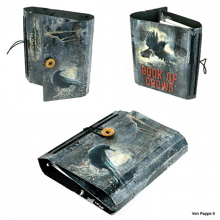 Book of Crows - Wrapped Journal