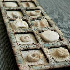 Recycled Chipboard Frame Fossil Tray