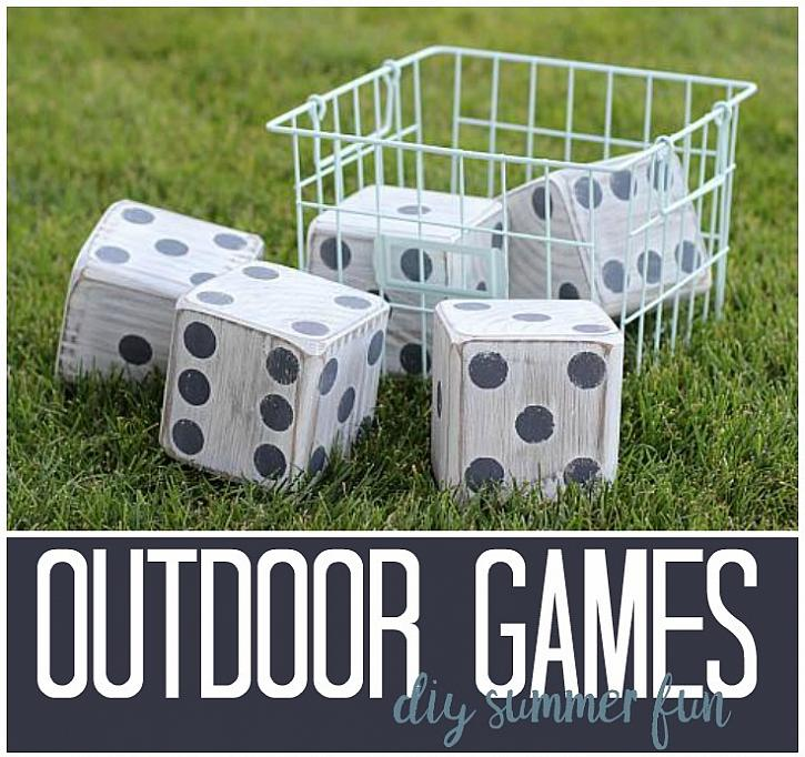DecoArt Blog - DIY - Outdoor Games: DIY Summer Fun on inexpensive backyard ideas, backyard bbq ideas, backyard playground ideas, small front yard landscaping ideas, diy patio, backyard design ideas, diy gardening, fun backyard ideas, backyard fence ideas, diy furniture, landscape design ideas, diy fire pit, small back yard landscaping ideas, backyard party ideas, small backyard ideas, budget backyard ideas, sloped back yard landscaping ideas, diy garden art, backyard landscaping ideas, back yard fire pit ideas,