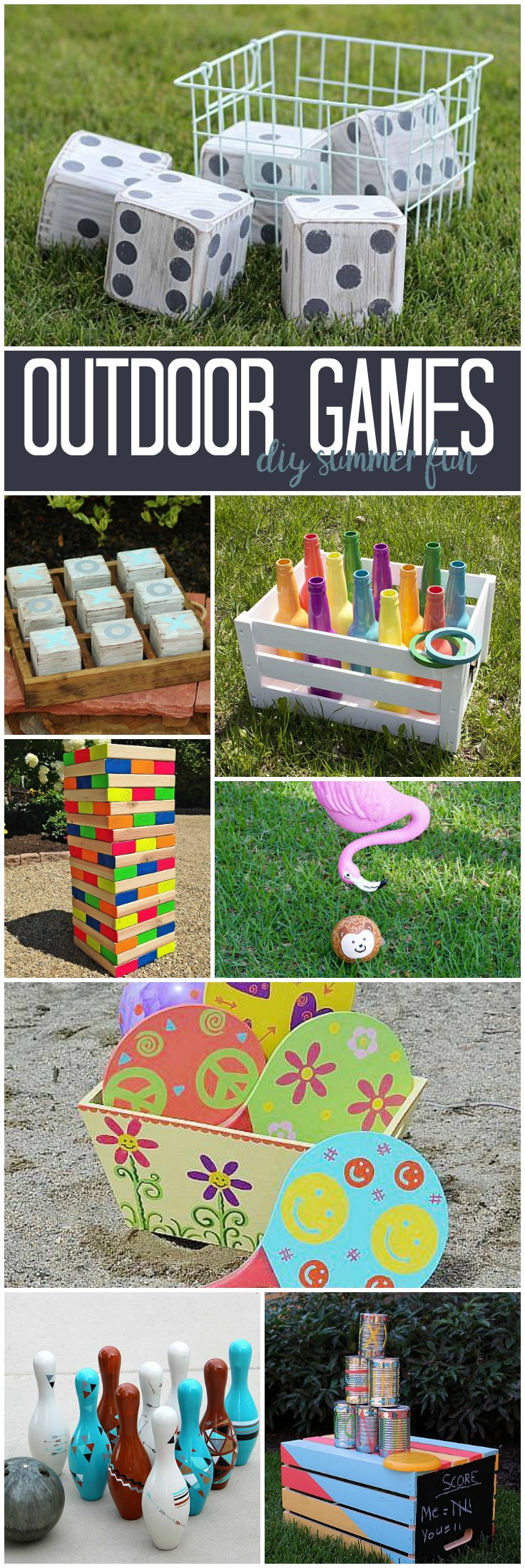DecoArt Blog - DIY - Outdoor Games DIY Summer Fun