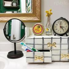 Countertop Bathroom Organizer by Kristy Robb