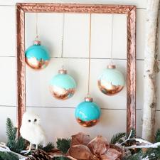 Bronze Christmas Ornaments