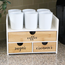 DIY Coffee Station by Meghan Quinones