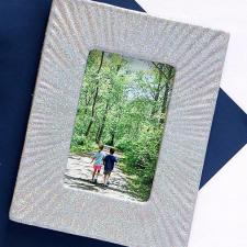 DIY Picture Frame with NEW DecoArt Holographic Illusions