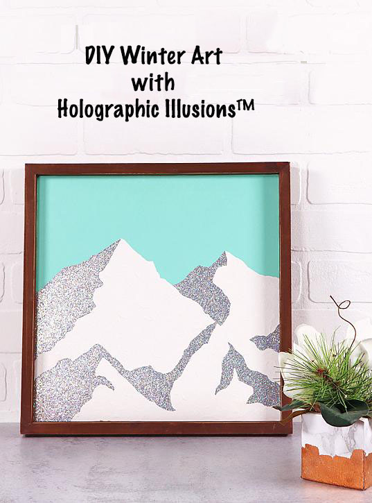 Winter Art with Holographic Illusions trade