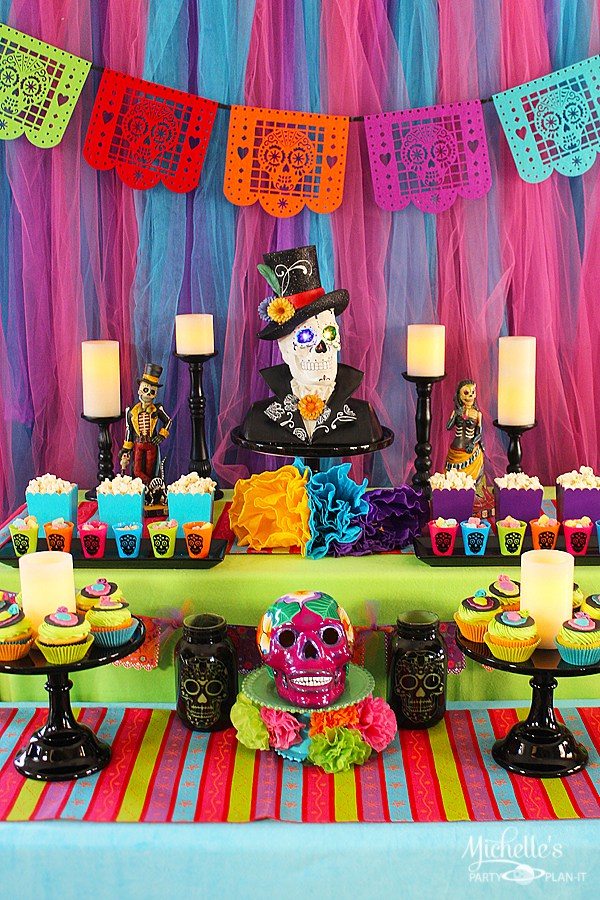 Day Of The Dead Party Food Ideas