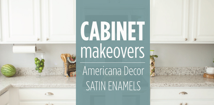 Cabinet Painting with Satin Enamels